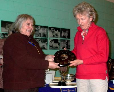 Christine Smith's Richell Cognac Diamond won the American Points Trophy