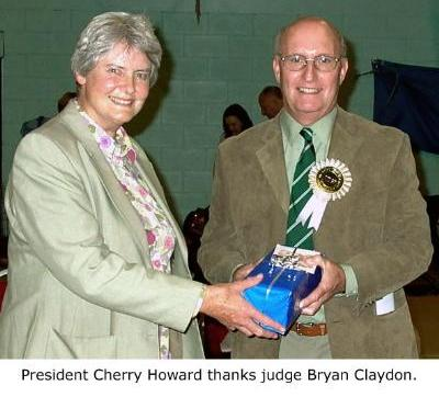 Cherry Howard Thanks Brian Claydon