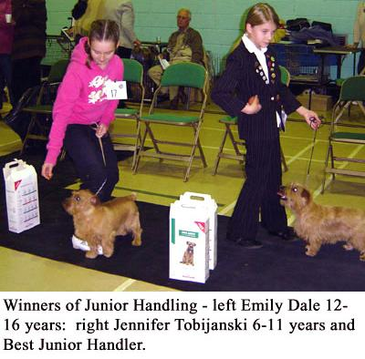 Junior Handling 12-16 Years