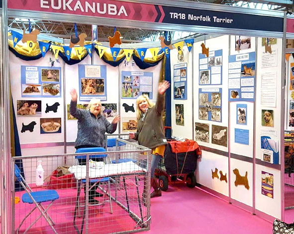 Discover Dogs Crufts 2017 Stand