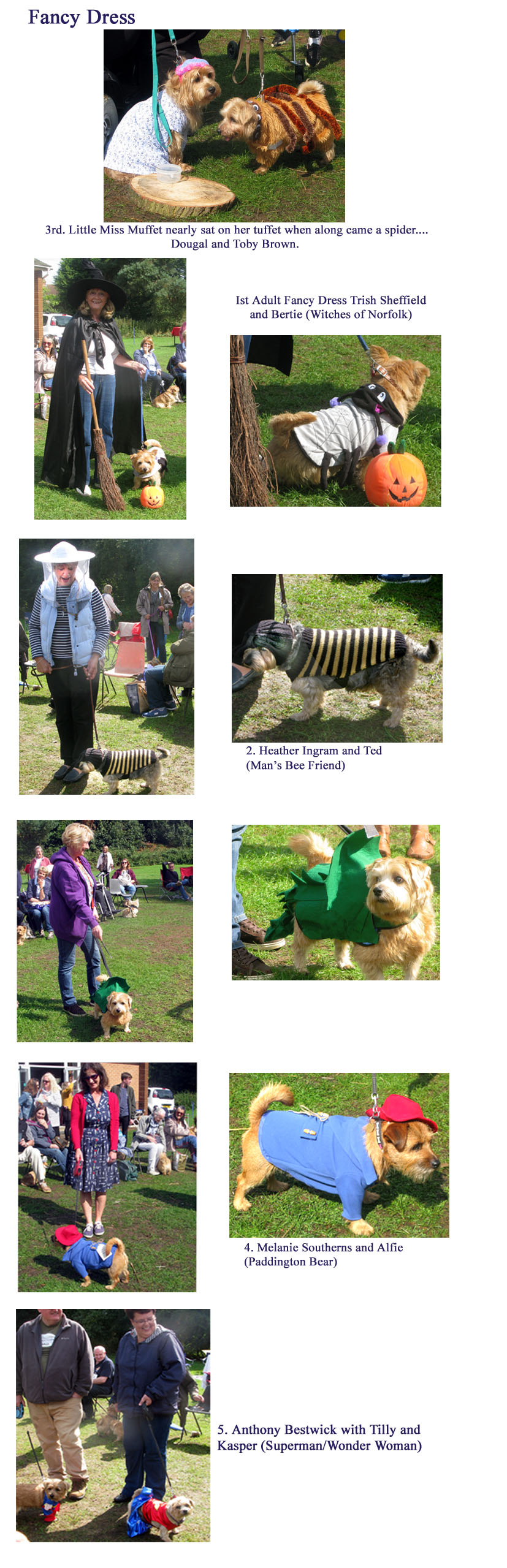Fancy dress, fun day 2018