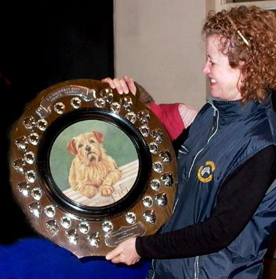 Mrs Linda Philip won the Colonsay Dixy Shield  for Nordalset Distinctly Dutch for Jaeva.