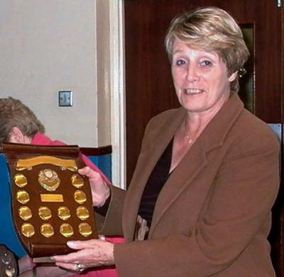 Mrs Jane Devereux won the Nathan Shield with Vichea Clever Clogs.